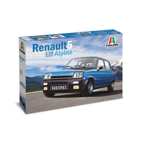 Renault 5 Alpine The Renault 5 is a real icon of the French automotive World. The small car, developed by Renault, was produced