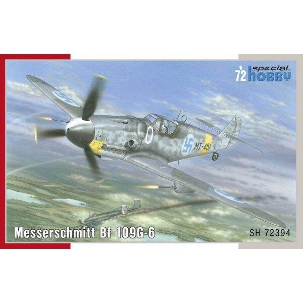 Messerschmitt Bf-109G-6 'Mersu over Finland' The Messerschmitt Bf 109 remained a standard fighter aircraft of the German Luftwaf