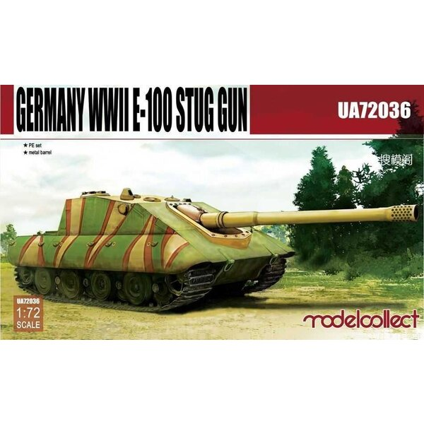 E-100 Supper Heavy Jagdpanther Germany WWII