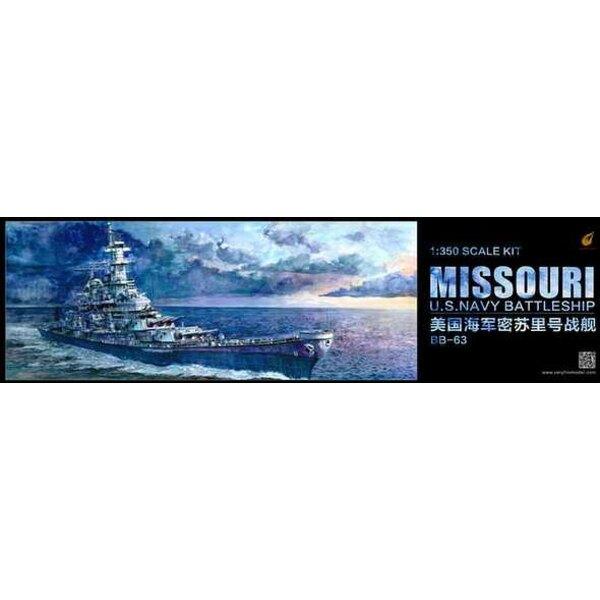 De retour en stock!USS Missouri (BB-63) Navy Battleship