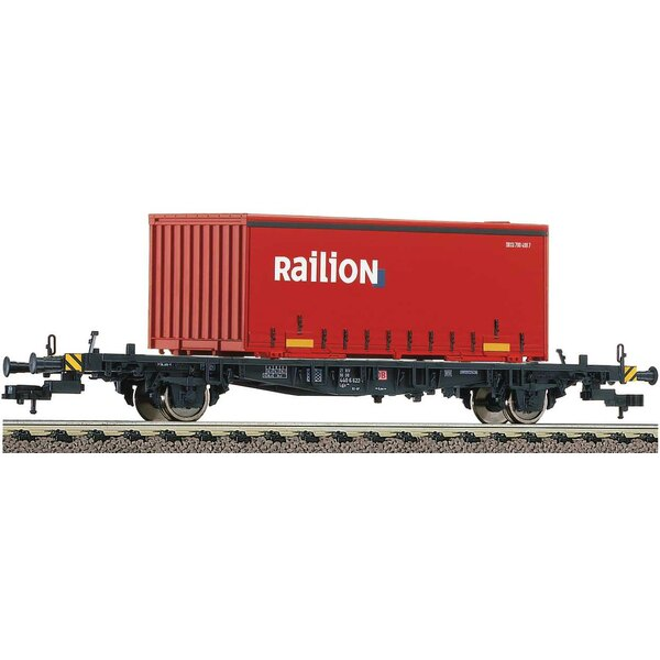 Container carrier wagon type Lgjs 598, DB AG