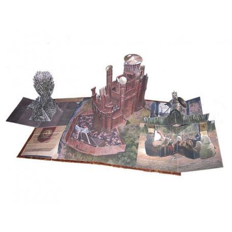 3D Pop Up Empire Chinois Dragon Bateau Carte de vœux