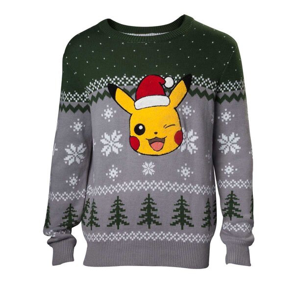 Pokémon Sweater Christmas Pikachu