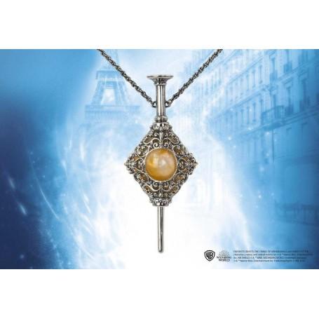 Les Animaux fantastique 2 réplique pendentif de Gellert Grindelwald avec chaînette Noble Collection NOB8096