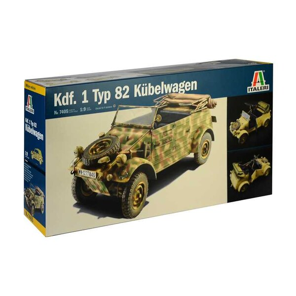 Kdf.1 Typ 82 Kübelwagen Typ 82 Kubelwagen is one of the most famous military cars of the Second World War. It was designed by th