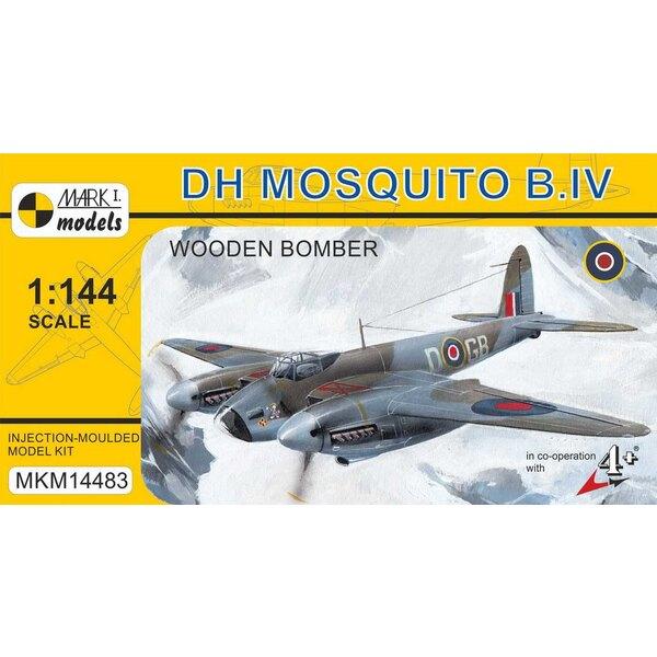 De Havilland Mosquito B.IV «Bombardier en bois» (RAF) Le De Havilland DH.98 Mosquito est un avion de combat britannique polyvale