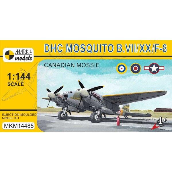 «Mossie canadienne» (ARC, USAAF) B.VII / B.XX / F-8 de Havilland. Le Mosquito de Havilland DH.98 était un avion de combat britan