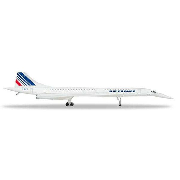 Air France Concorde - nose down position