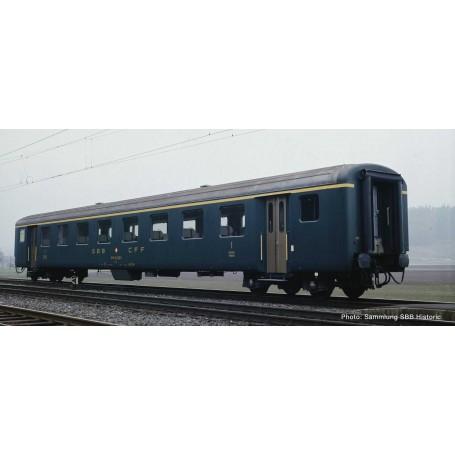 1st class fast train coach EW II, SBB Roco 74560