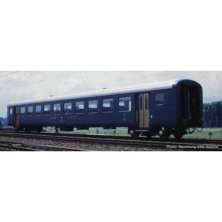 2nd class fast train coach EW II, SBB Roco 74562