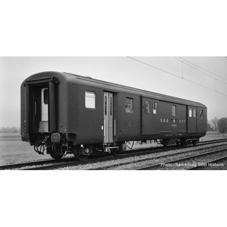 Baggage coach EW II, SBB Roco 74564