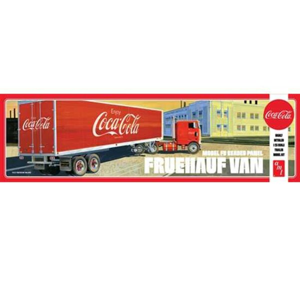 VAN SEMI TRAILER COCA-COLA