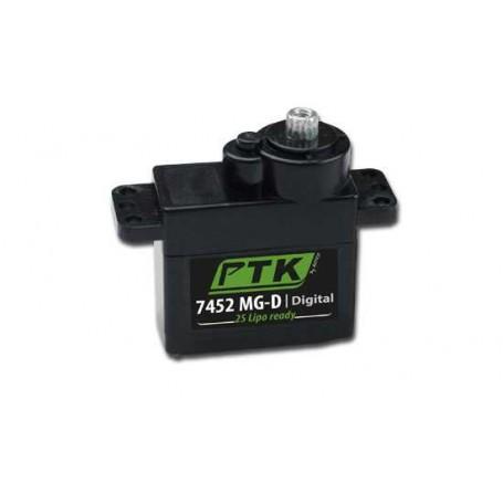 Servo numérique Pro-Tronik Micro 7452 MG-D