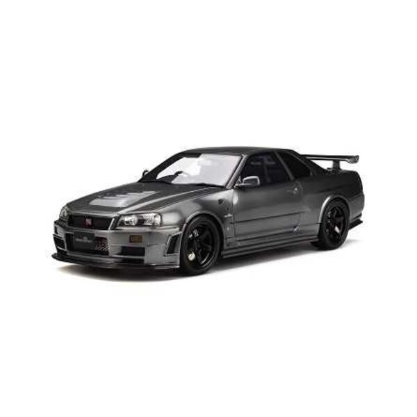 NISSAN NISMO GT-R R34 CLUBMAN RACE SPECIAL ANTHRACITE (EPUISE)