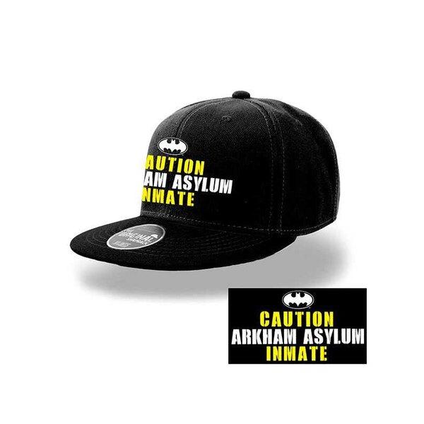 Batman casquette hip hop détenu Arkham