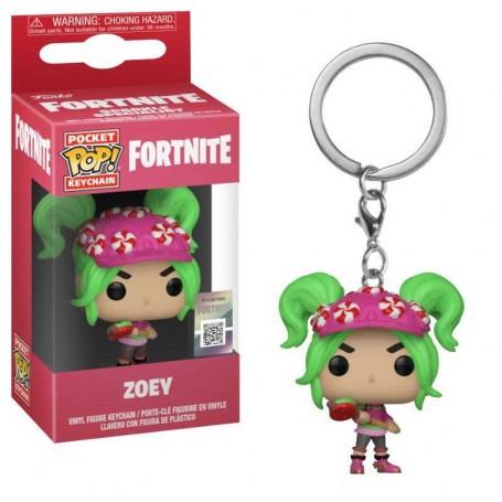 Fortnite porte-clés Pocket POP!Vinyle Zoey 4 cm Funko FK36973