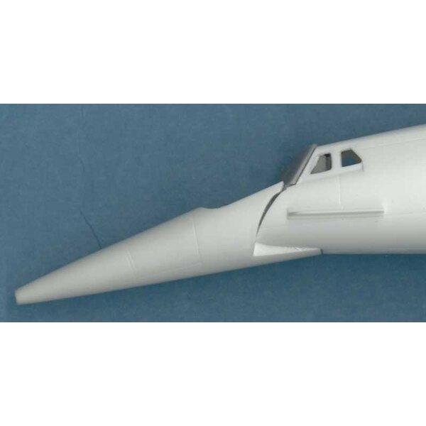 Pare-brise de Concorde Aerospatiale