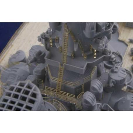 New Yamato pont en bois Light Pack (conçu pour les maquettes Tamiya) Mk.1 Design MD-35023