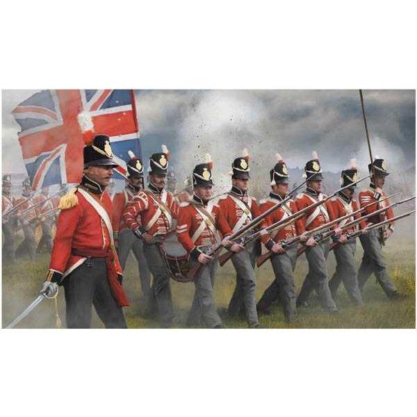 Britannique d'infanterie en attaque (époque napoléonienne)