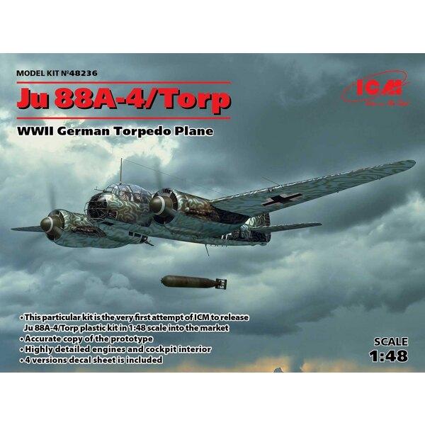 Junkers Ju-88A-4 Torp / A-17, avion de torpille allemand de la Seconde Guerre mondiale. Ce kit particulier est la toute première