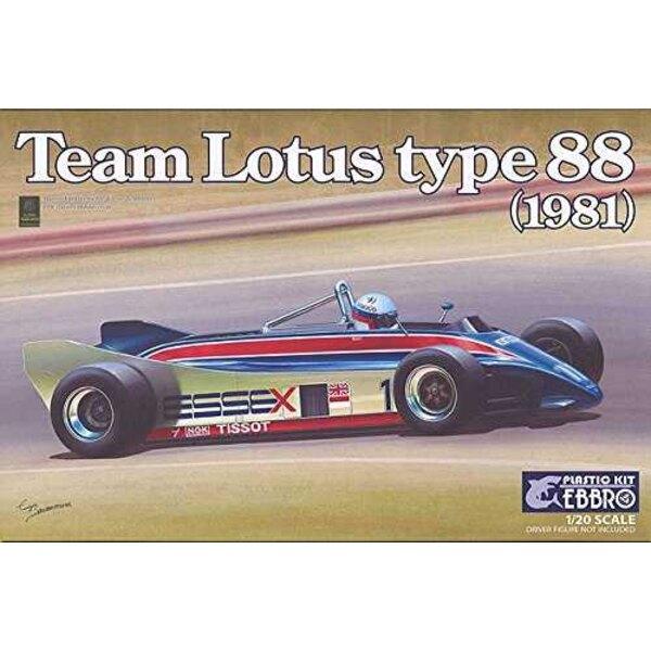 Team Lotus 88 Type 1981