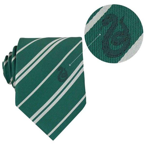 Harry Potter set cravate & badge Slytherin