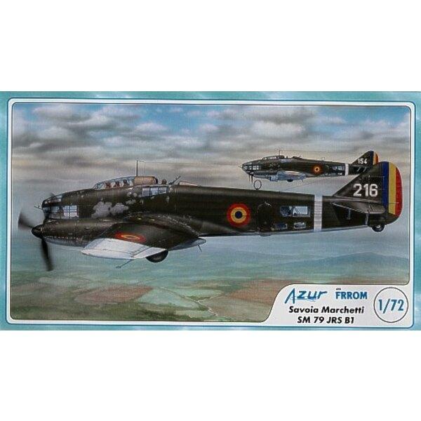 Savoia Marchetti SM.79 JIS/JRS B (le bombardier bimoteur de la 2ème GM roumain avec moteurs en ligne Junkers Jumo 211 D)