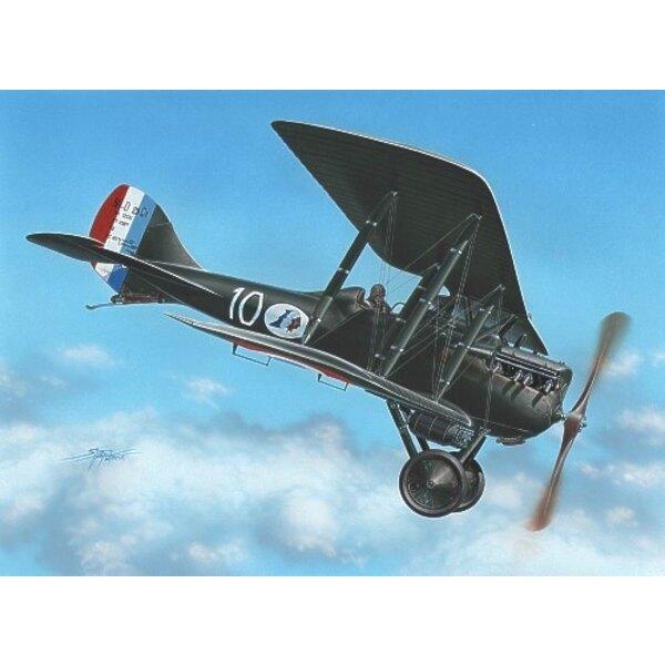 Nieuport NiD 29 : Décalques 2 France x et 1 Belgique x. Plus de 700 construits en France
