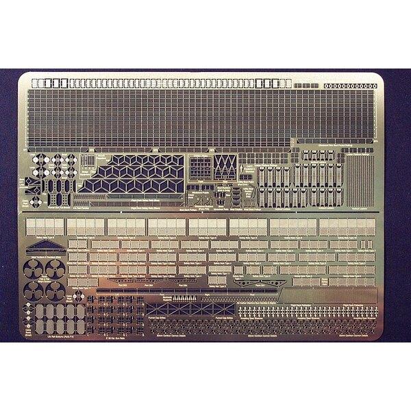 Lexington (pour maquettes Trumpeter) la grille Spécialisée dans plusieurs styles avec les sections à la nombreuse pré-forme et p