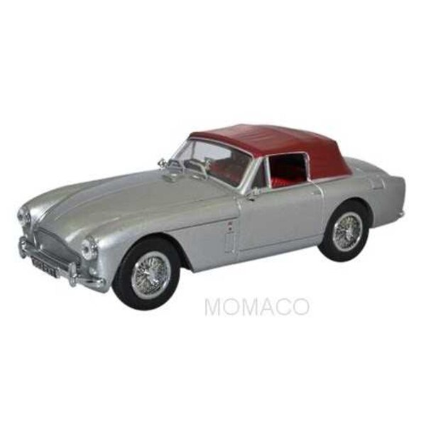 ASTON MARTIN DB2 MKIII SALOON GRIS CAPOTE ROUGE