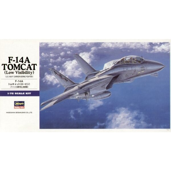 Grumman F-14A Tomcat avec décalques basse visibilité