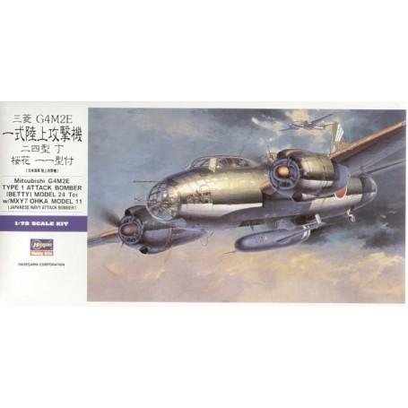 Mitsubishi G4M2E Betty type 1 bombardier d'attaque