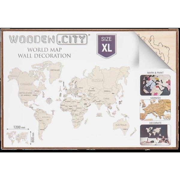 Carte du monde XL