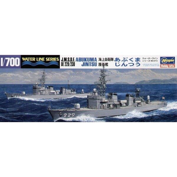 JMSDF Destroyers Abukuma & Jintsu (la boîte contient deux bateaux)