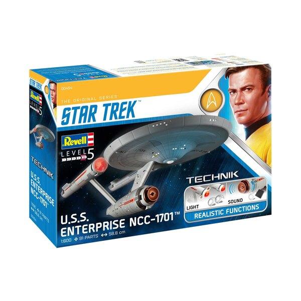 Star Trek USS Enterprise NCC-1701 - Caractéristiques Voyants et son clignotants