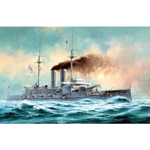 uirassé japonais MIKASA 'Bataille de la mer du Japon'