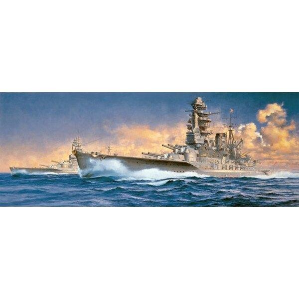 Cuirassé japonais Nagato 1941