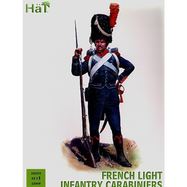 Carabiniers français : 48 figurines en plastique dur