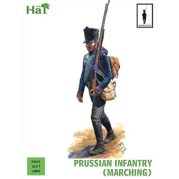 Infanterie prussienne marchant (période napoléonienne)