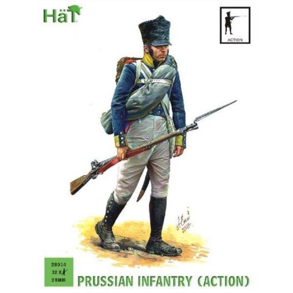 Infanterie prussienne en action (période napoléonienne)