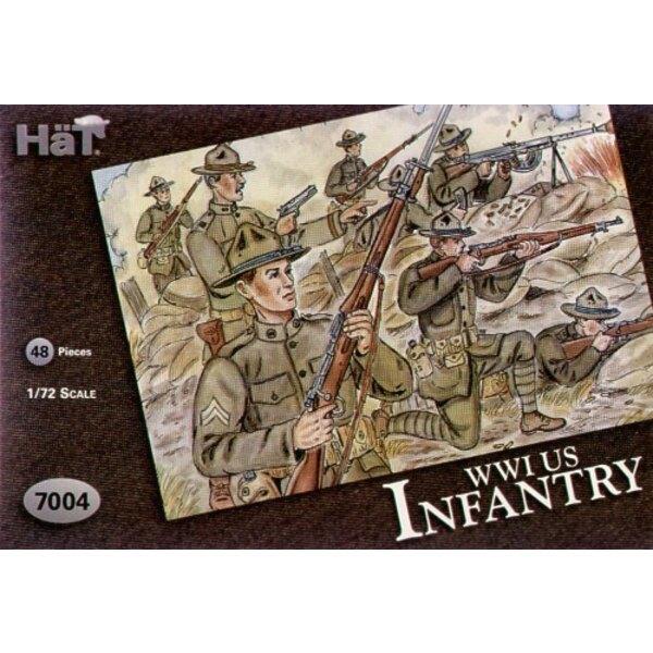 WWI US Infantry ex Airfix