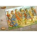Romains républicains - Princeps et Triari. 48 fantassins, 20 Princeps avec pilum, 16 avec Triari avec lances et 12 fantassins av