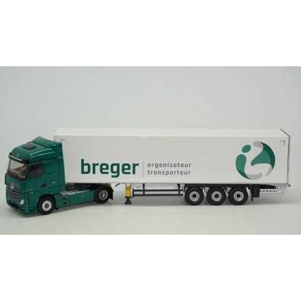 """MERCEDES-BENZ ACTROS 2 STREAMSPACE FOURGON TRANSPORTS """"BREGER"""""""