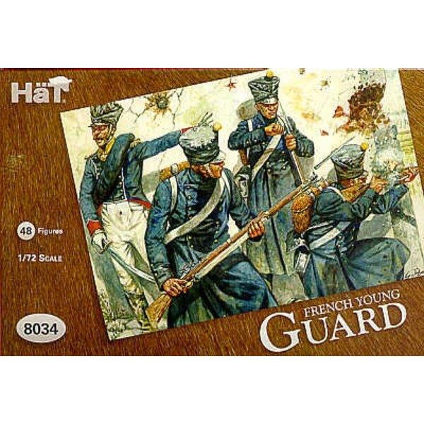 Jeune Garde française - 48 fantassins en capote