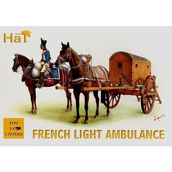 French Light Ambulance x 3 per box