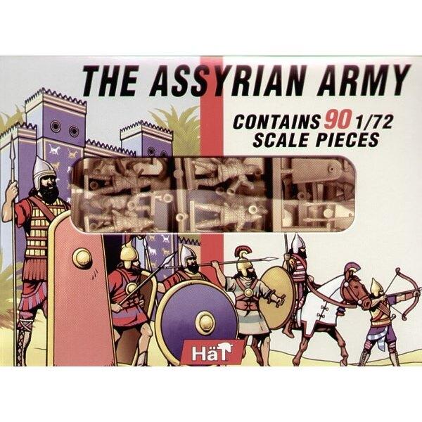 Infanterie assyrienne - 90 (composé des figurines déjà éditées)