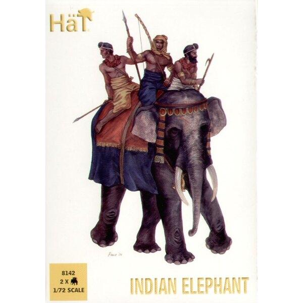 Elephant indien - 2 éléphants par boîte