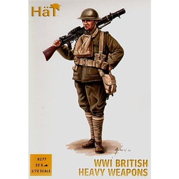 Armes Lourdes britanniques 1ère GM