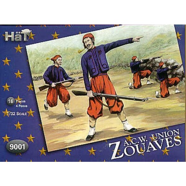 American Civil War Zouaves. The US army was highly influenced by French uniforms prior to the Civil War to the extent of purchas