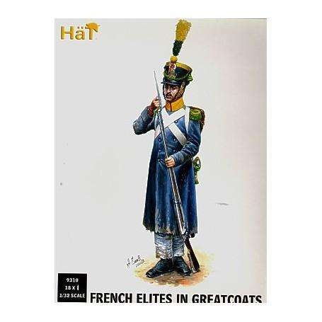Troupes d'élites françaises en capote